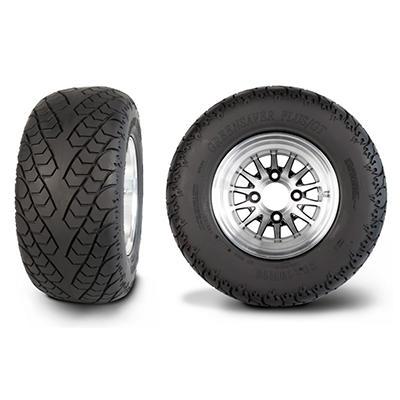 Greenball Greensaver Plus/GT with Machined Aluminum Wheel - 255/50R10(20X10R10)