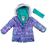 OshKosh Girls' Coat Quilted Parka