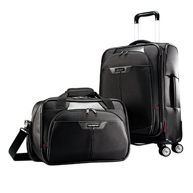 Samsonite 2 Piece Executive Set - Carry On & Laptop Boarding Bag