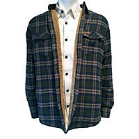 Field & Stream Sherpa Lined Flannel Shirt Jacket