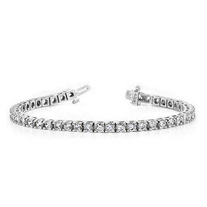 2 ct. t.w. Round-Cut Diamond Tennis Bracelet (G-H, SI2-I1)