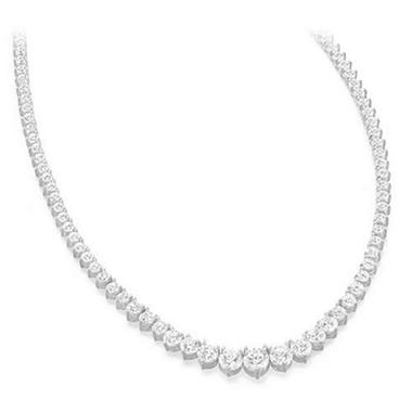 12 ct. t.w. Riviera Diamond Necklace (G-H, SI2-I1)