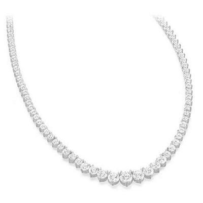 12 ct. t.w. Riviera Diamond Necklace (G-H, SI2-I1)