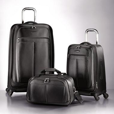 Samsonite 3 pc. Spinner Luggage Set - Space Blue