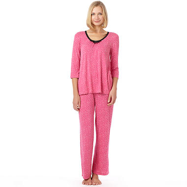 Kensie Long Sleeve Knit PJ - Various Styles