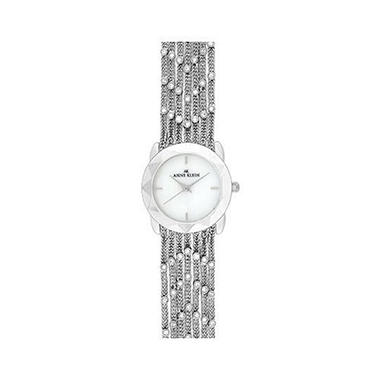 AK by Anne Klein Multi-Chain Crystal Watch