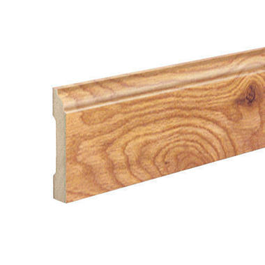 SimpleSolutions™ Wallbase Molding – Seasoned Cherry / Natural Fruitwood; 94.50""