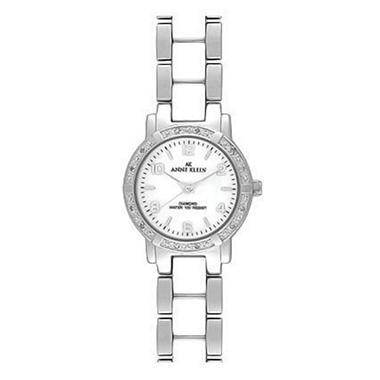 AK by Anne Klein White Ceramic Bracelet Watch