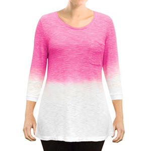 Zobha Dip Dye Top (Assorted Colors)