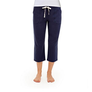 Eddie Bauer Ladies French Terry Capri (Assorted Colors)