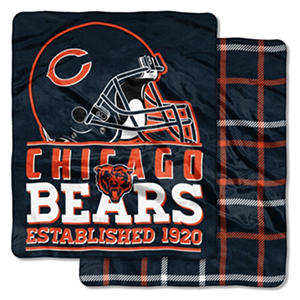 Chicago Bears Double-Sided Throw