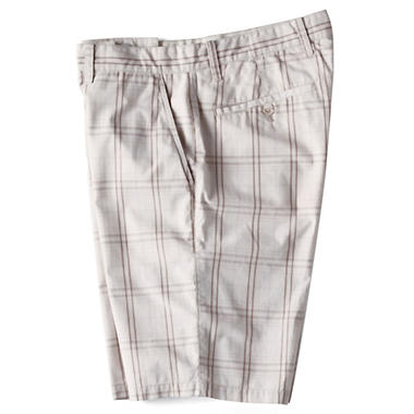 Yarn Dyed Plaid Short - Beige Brown