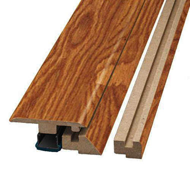 SimpleSolutions? Four-in-One Molding ? Golden Amber Oak; 78.75 In. Long