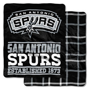 "San Antonio Spurs Double Sided Cloud Throw  (60"" x 70"")"