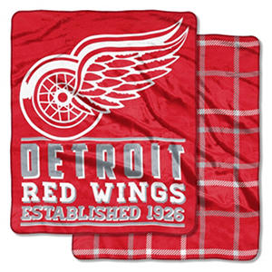Detroit Red Wings Double-Sided Throw