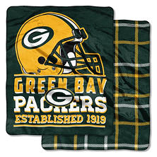 Green Bay Packers Double-Sided Throw