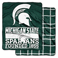 Michigan State Spartans Double-Sided Throw