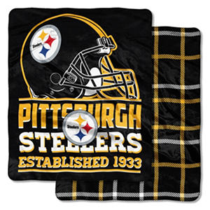 Pittsburgh Steelers Double-Sided Throw