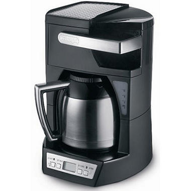 delonghi 10 cup programmable drip coffee maker sam 39 s club. Black Bedroom Furniture Sets. Home Design Ideas