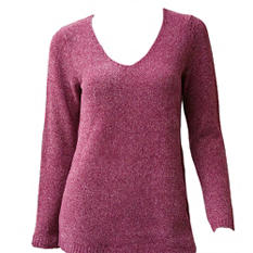 Spense Knit Chenille Sweater (Assorted Colors)