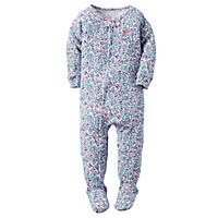 Carter's Girls' 1-Piece Footed Sleeper