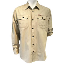 Brushed Poplin Utility Shirt
