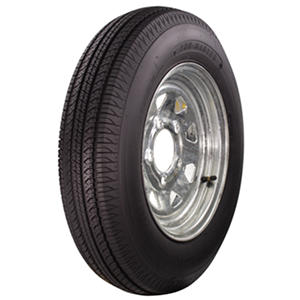 Greenball Tow-Master Trailer Tire & Galvanized Spoke Wheel (Multiple Options)