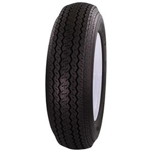 Greenball Tow-Master Trailer Tire & White Modular Wheel (Multiple Options)