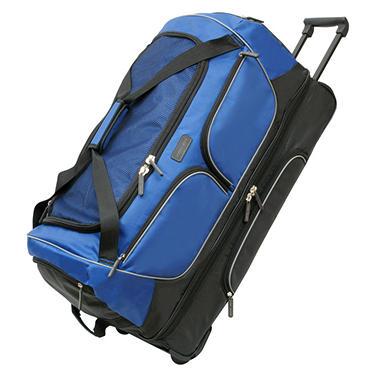 "Geoffrey Beene 30"" Drop Bottom Wheeled Duffel Bag"