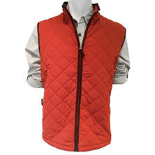 Field & Stream Quilted Vest with Faux-Suede Trim