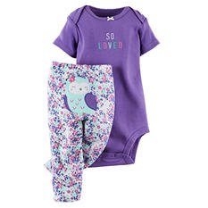 Carter's Two-Piece Bodysuit and Pant Set