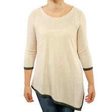 Grace Elements Asymmetrical Hem Top