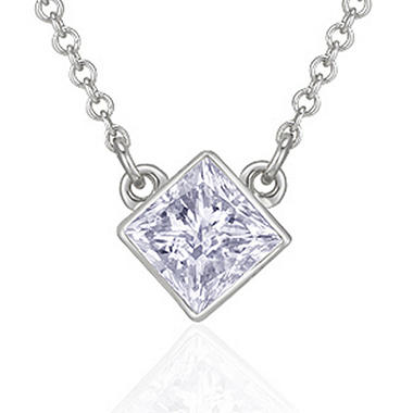 .50 ct. Princess Diamond Solitaire Pendant (H-I, I1)