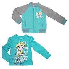 Frozen Elsa Jacket and T-Shirt Set