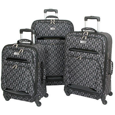 Geoffrey Beene 3 pc. Fashion Luggage Collection