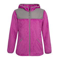 Girl's Fleece Jacket (Assorted Colors)