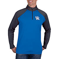 Kentucky Wildcats, NCAA Men's Athletic Quarter-Zip Fitness Jacket