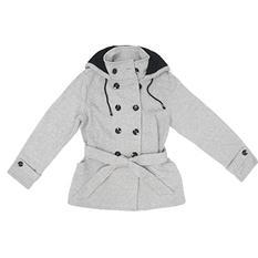 Sebby Ladies Fleece Trench Coat