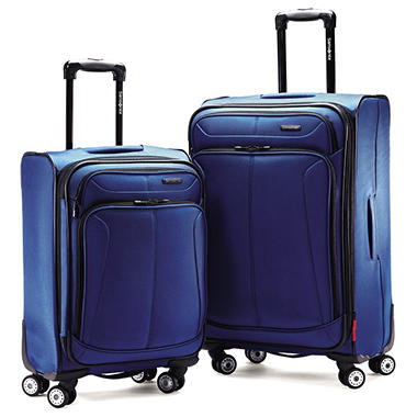 Samsonite 2-Piece 360 Spinner Set, Navy  70553-1596