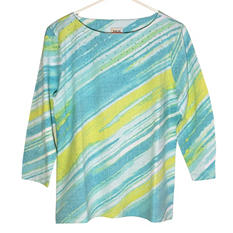 Ruby Rd Embellished Printed Top (Assorted Styles)