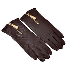 Michael Kors Women's Leather Glove Zipper - Choose Color