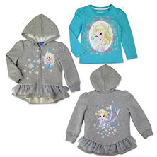 Girl's Frozen 2 Piece Jacket Set - Grey