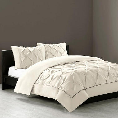 Linden Bedding Set with Removable/Washable Cover - 4 pcs., Various Colors