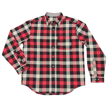 Men's Plaid Flannel - Various Colors