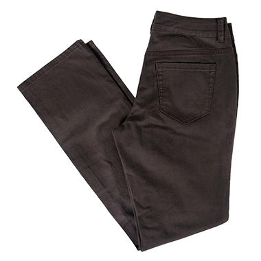 Straight Leg Colored Denim Pants - Various Colors