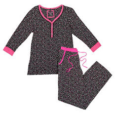 Kensie Ladies 2-pc. PJ Set (Assorted Colors)
