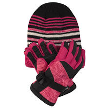 Free Country Kids' Hat and Glove Set