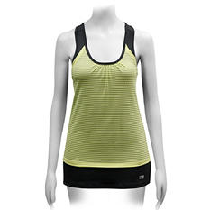 Ladies Double Layer Athletic Tank (Assorted Colors)