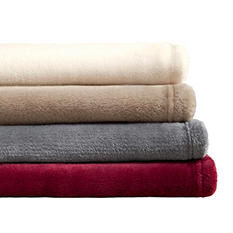 Microtec Plush Blanket (Assorted Sizes and Colors)