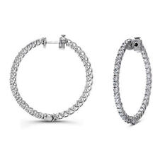 3 ct. t.w. Diamond Hoop Earrings (G-H,SI2-I1)